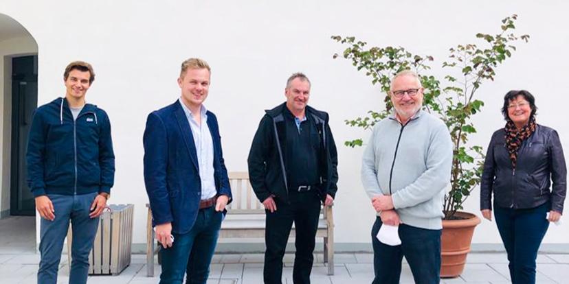 Teilnahmer der Führung durch die bayerische Landesausstellung