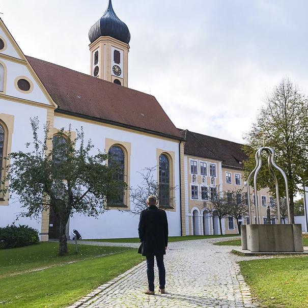 Matthias Krause im Kloster Oberschönenfeld