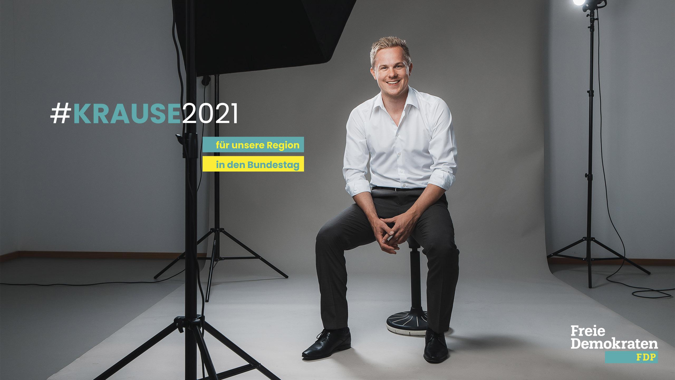 Matthias Krause Kandidat der FDP