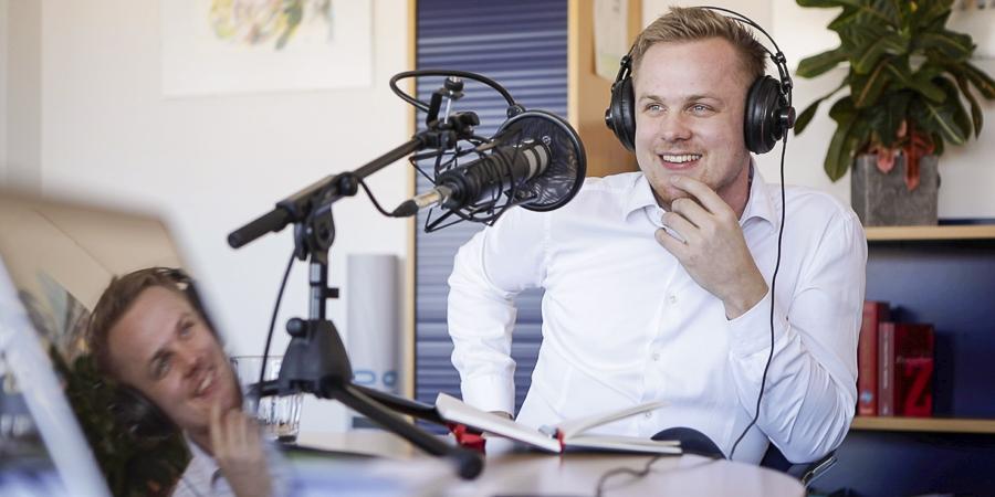 Aufnahme Podcast von Matthias Krause